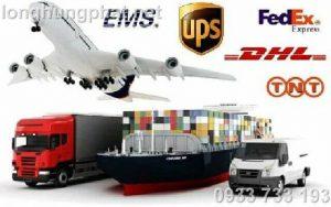 Long Hưng Phát cung cấp dịch vụ của DHL, UPS, Fedex, TNT